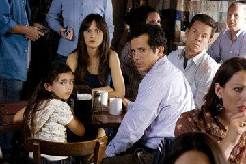 Ashlyn Sanchez , Zooey Deschanel , John Leguizamo and Mark Wahlberg in 20th Century Fox's The Happening