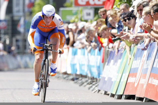 Dutch Cyclist Rick Flens Of Rabobank Cycling Team Rides  AFP/Getty Images