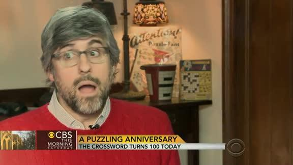 Crossword puzzles turn 100-years-old