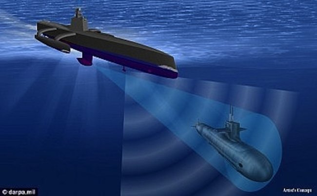 ACTUV Darpa sub hunter