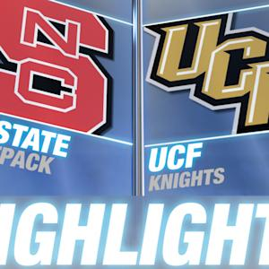NC State vs Central Florida | 2014 ACC Football Highlights