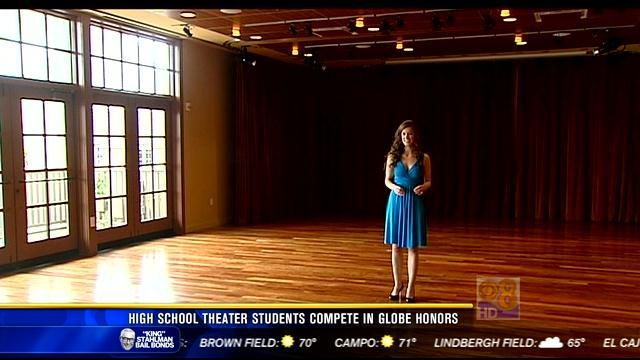 """High school theater students compete in """"Globe Honors"""""""