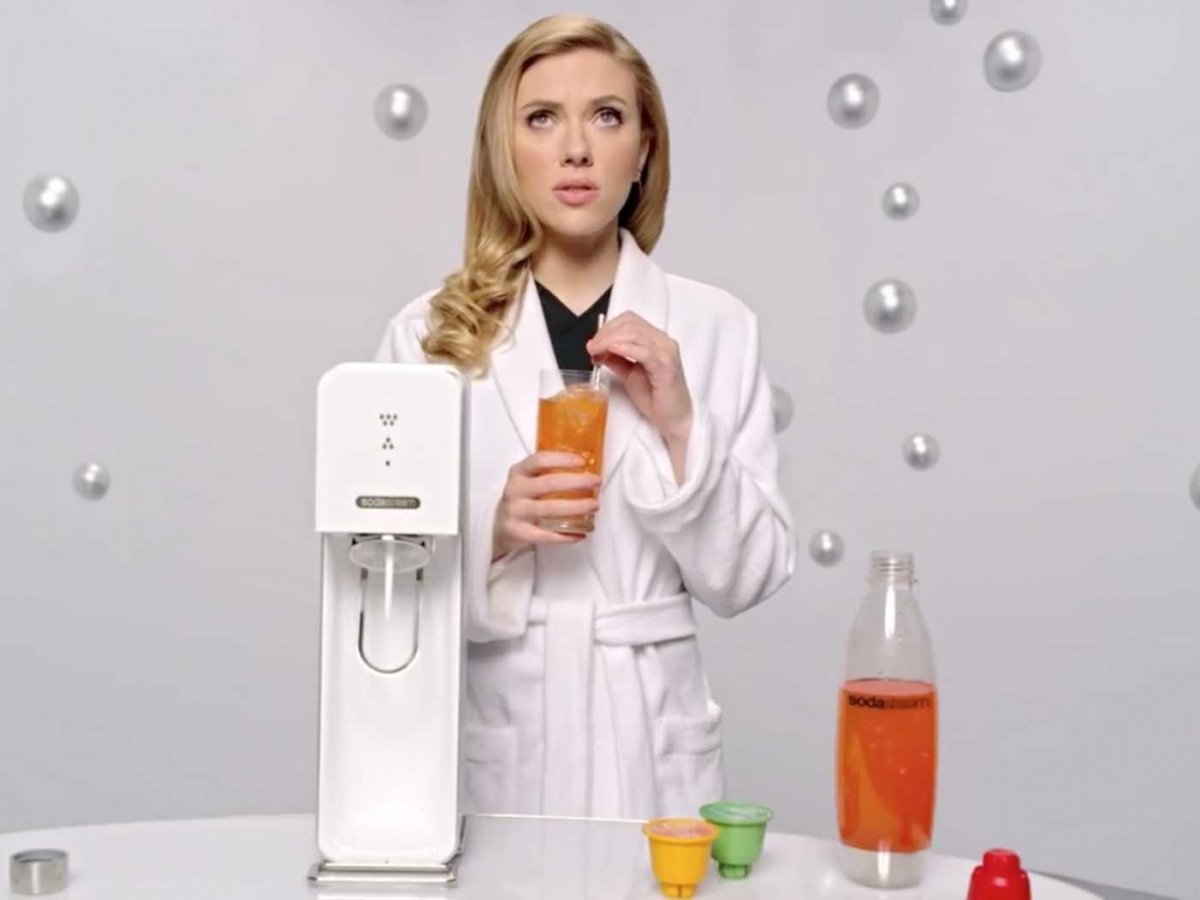 Scarlett Johansson SodaStream screenshot 1