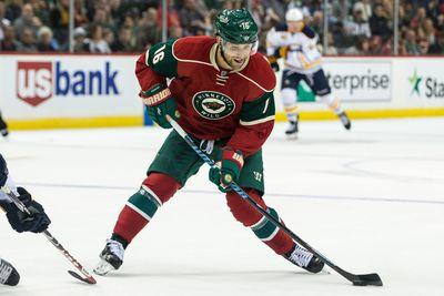 Wild's Jason Zucker caught spearing Avalanche player in the groin