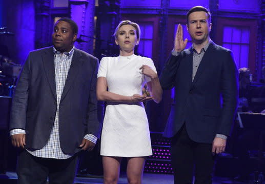 Scarlett Johansson Hosts SNL: Watch Video of the Best and Worst Sketches