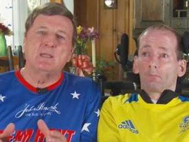 Father-Disabled Son Marathon Team: We'll Be 'Stronger Next Year'