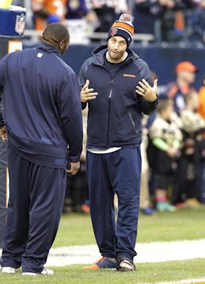Trestman: Injured Cutler remains Bears' No. 1 QB