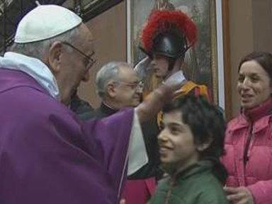 Pope Delights Faithful in First Sunday Address