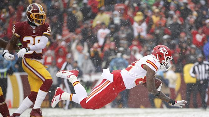 5 things to know after Chiefs rout Redskins 45-10