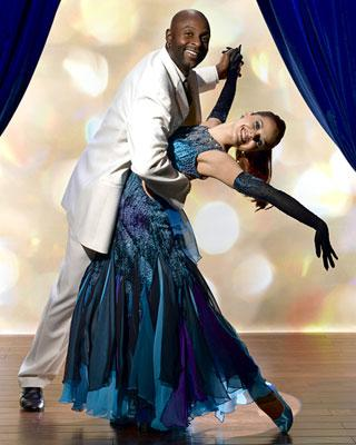 Jerry Rice teams up with professional dancer Anna Trebunskaya for Season 2 of Dancing with the Stars