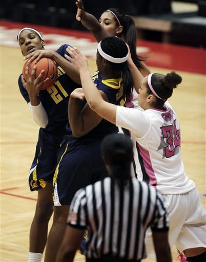No. 6 Cal women beat Washington State  73-60