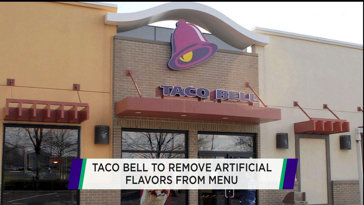 Taco Bell says 'No Mas' to artificial ingredients