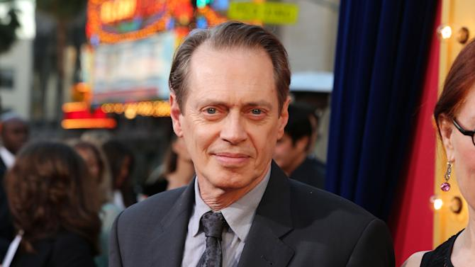 Steve Buscemi at New Line Cinema's World Premiere of 'The Incredible Burt Wonderstone' held at Grauman's Chinese Theatre on Monday, Mar., 11, 2013 in Los Angeles. (Photo by Eric Charbonneau/Invision for New Line Cinema/AP Images)