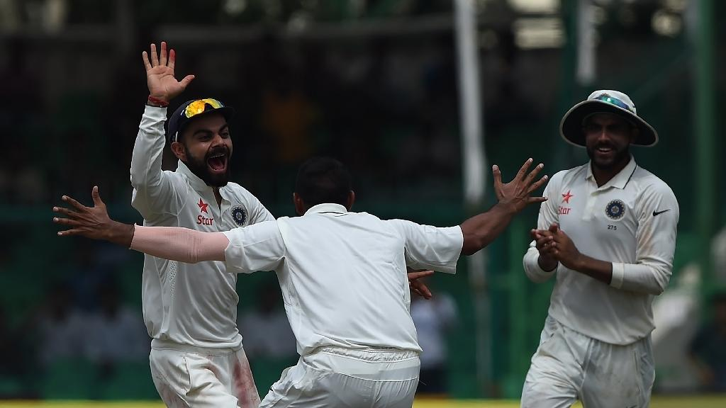 India on verge of victory in landmark 500th Test