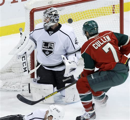 Coyle, Clutterbuck give Wild 2-1 win over Kings