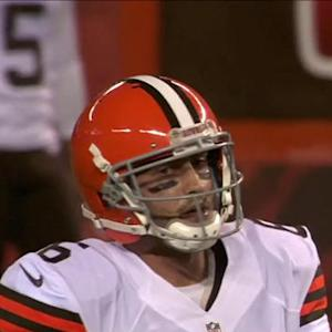 NFL NOW: Cleveland Browns QB Brian Hoyer steps up