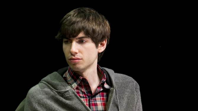"""FILE - In this Oct. 1, 2012 file photo, Tumblr founder David Karp participates in the """"Bloomberg Leadership Summit"""" seminar in New York. In a deal announced Monday, May 20, 2013, Yahoo is buying New York-based Tumblr, the online blogging forum, for $1.1 billion. About $275 million will go to Karp, 26, who dropped out of high school to concentrate on computer programming and started Tumblr six years ago. (AP Photo/Charles Sykes/Invision for Advertising Week)"""