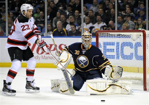 Gerbe seals Sabres 3-2 SO win over Devils