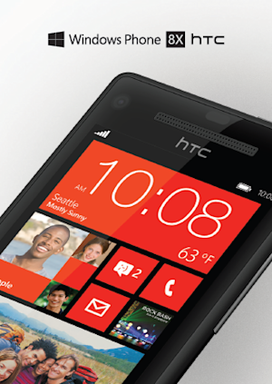 Image, specs for 'HTC 8X' with Windows Phone 8 emerge