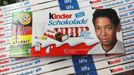 Chocolate bar wrappers ignite German row over racism