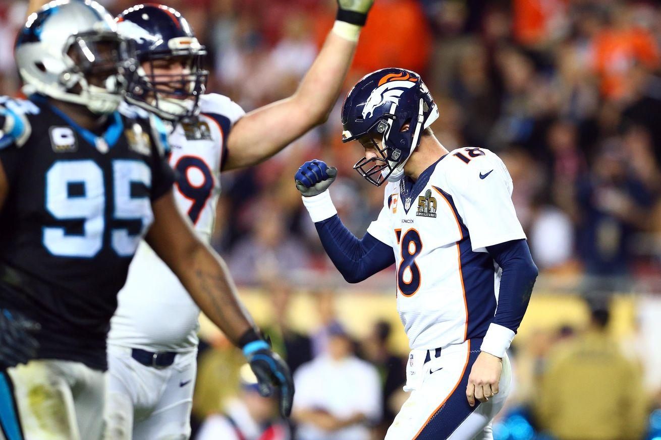 Peyton Manning abandoned his instinct to help the Broncos win a Super Bowl