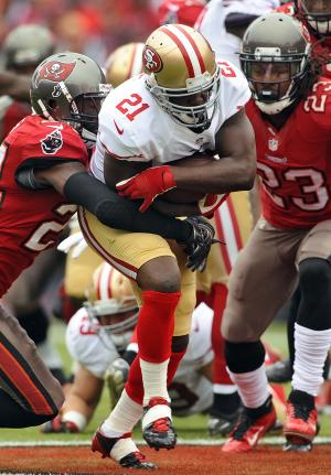 Gore helping push 49ers toward playoff berth