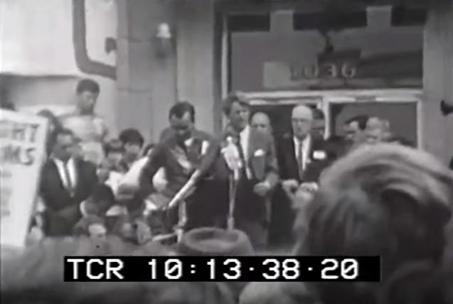 Watch Robert Kennedy Push Gun Control 47 Years Ago in Same Town As Recent Mass Shooting