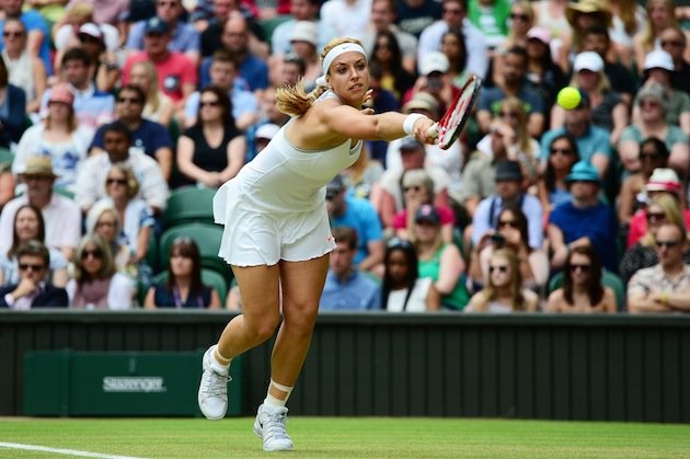 Sabine Lisicki beats Serena Williams to pull off the upset of Wimbledon