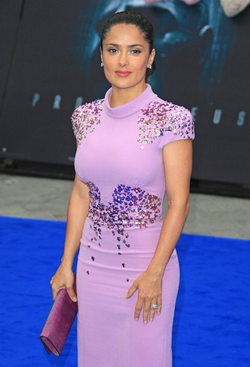 Salma HayekPrometheus World premiere held at the Empire - Arrivals London, England - 31.05.12  Mandatory Credit: Lia Toby/WENN.com