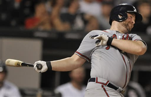 McCann's 3-run HR lifts Braves past White Sox, 6-4