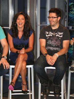 AccessHollywood.com's Laura Saltman shares a laugh with 'Idol's' Danny Gokey, May 21, 2009  -- Access Hollywood