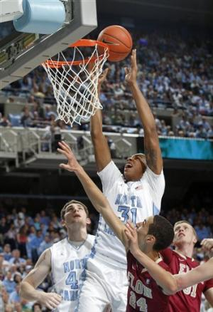 Fifth-ranked North Carolina beats Elon 100-62