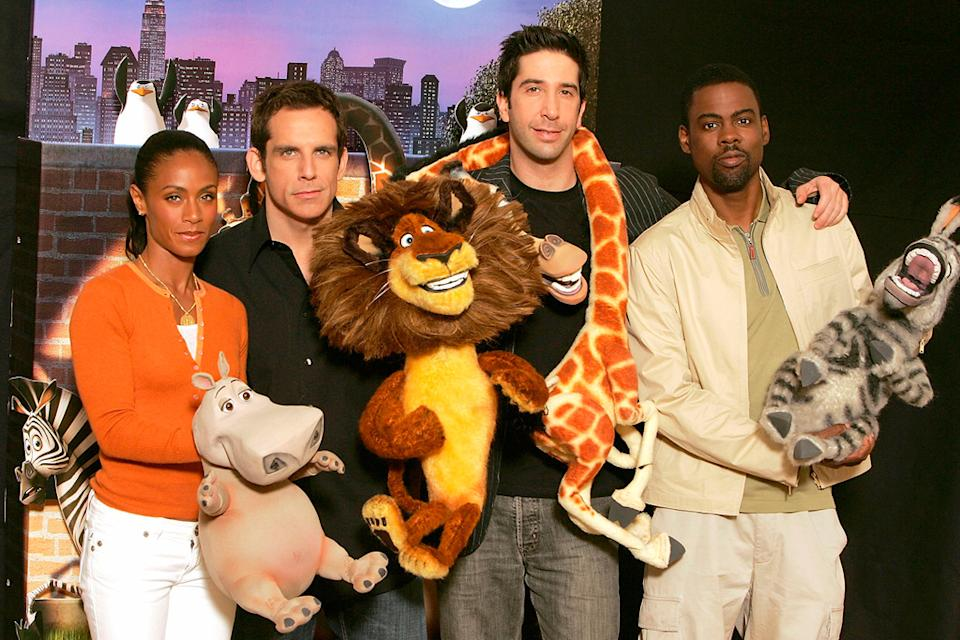 Chris Rock Jada Pinkett Smith David Schwimmer Ben Stiller 2005