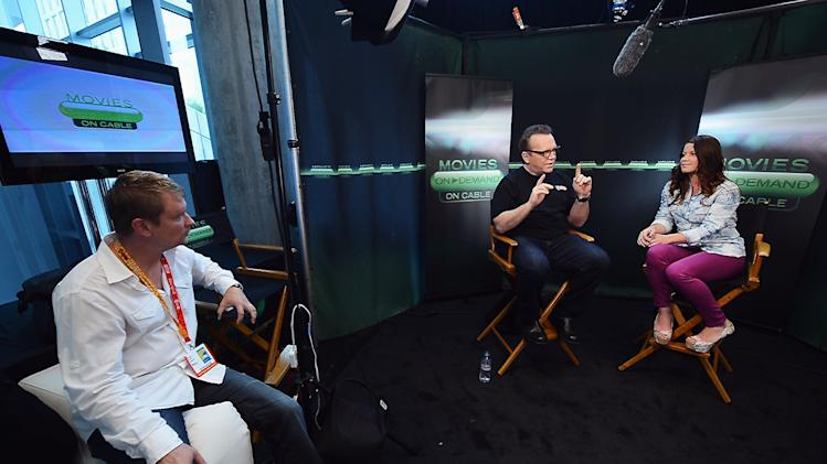 """Hunger Games"" Tributes Visit The Movies On Demand Lounge At Comic Con"