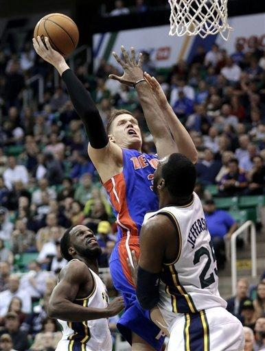 Jazz stop slide with 103-90 victory over Pistons