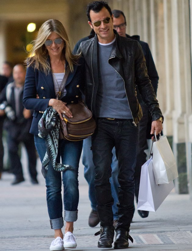Jennifer Aniston and Justin Theroux, engaged