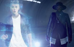 WATCH: Justin Bieber Appears As Hologram In will.i.am's '#thatPOWER' Music Video
