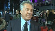 "Dustin Hoffman premiered his directorial debut ""Quartet"" on Monday in London ""Quartet"" is a British comedy about four elderly opera singers who are reunited in a specialist retirement home."
