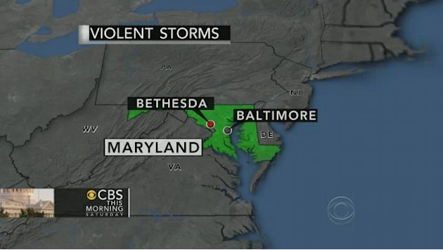 Huge, violent storms hit from …