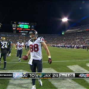 Houston Texans tight end Garrett Graham 5-yard touchdown