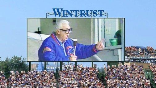 Rumble at Wrigley: Cubs Fans Want Harry Caray on Wrigley's New Video Board