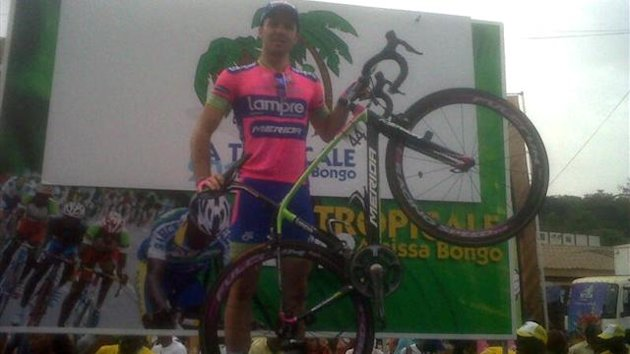 Andrea Palini of Lampre-Merida