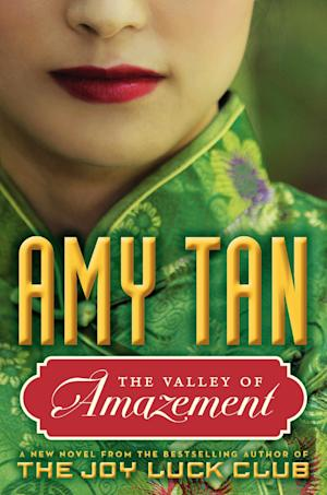 """This book cover image released by Ecco shows """"The Valley of Amazement,"""" by Amy Tan. (AP Photo/Ecco)"""