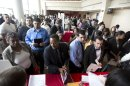 489d0946dfe64603280f6a706700e840 US gains 157K jobs; jobless rate rises to 7.9 pct.