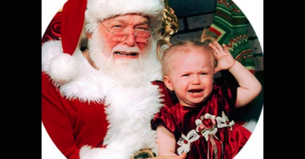19 Scary Santa Claus Imposters Whose Laps To Avoid