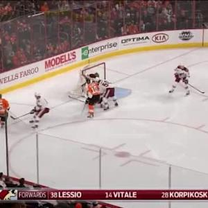 Mike Smith Save on Nick Schultz (00:27/1st)