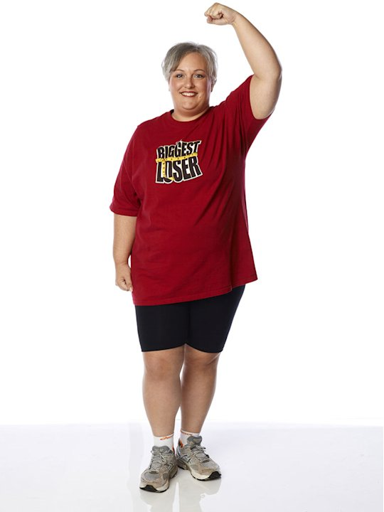 "Christine Pickler competes on the 13th season of ""The Biggest Loser."""