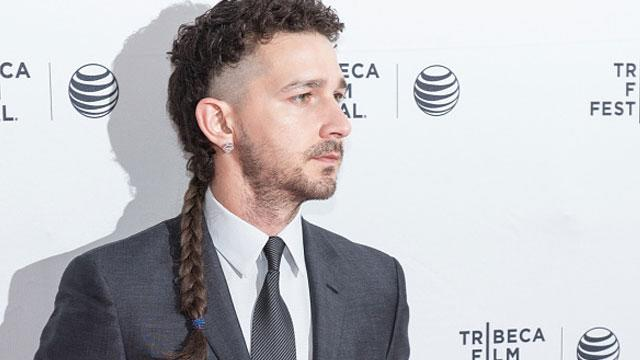 Did Shia LaBeouf's Hair Just Get Worse?!
