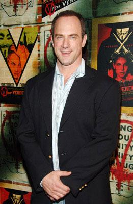 Premiere: Christopher Meloni at the New York premiere of Warner Bros. Pictures' V for Vendetta - 3/13/2006