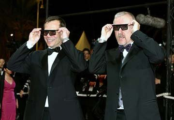 Bill Paxton, James Cameron Cannes Film Festival 5/17/2003